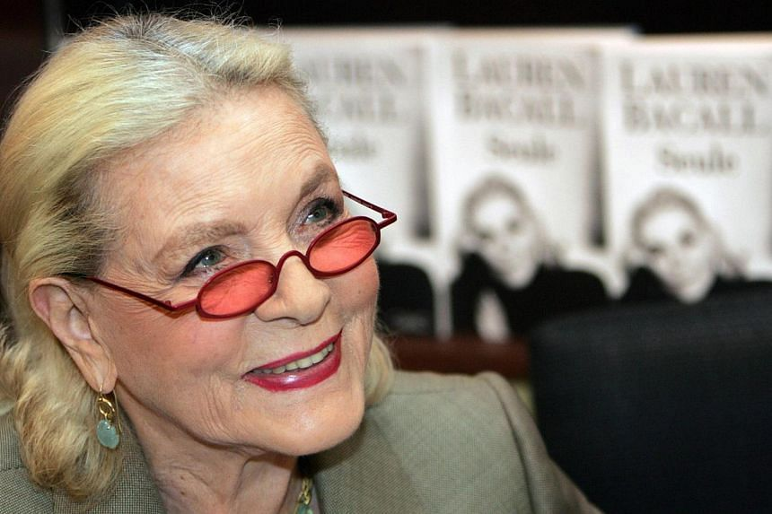 The art collection of late Hollywood legend Lauren Bacall, seen here (above) in a 2005 file photo, will go on sale in New York next year. The collection includes work by some of the greatest artists of the 20th century and is worth an estimated US$3