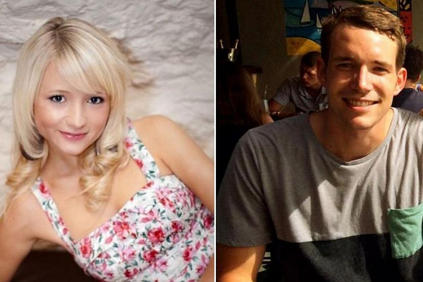 The battered bodies of Hannah Witheridge and David Miller were found on the popular resort island of Koh Tao on Sept 15. Family and friends staged a party funeral marked by bright colours, cheering and applause on Friday to bid farewell to Withe