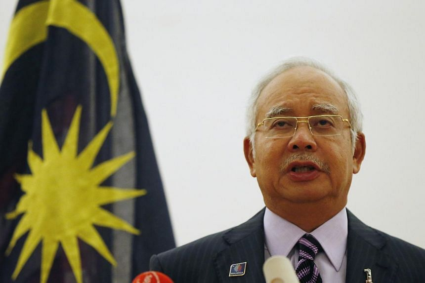 Prime Minister Datuk Seri Najib Tun Razak has given his assurance that Chinese primary schools in the country are here to stay. -- PHOTO: REUTERS