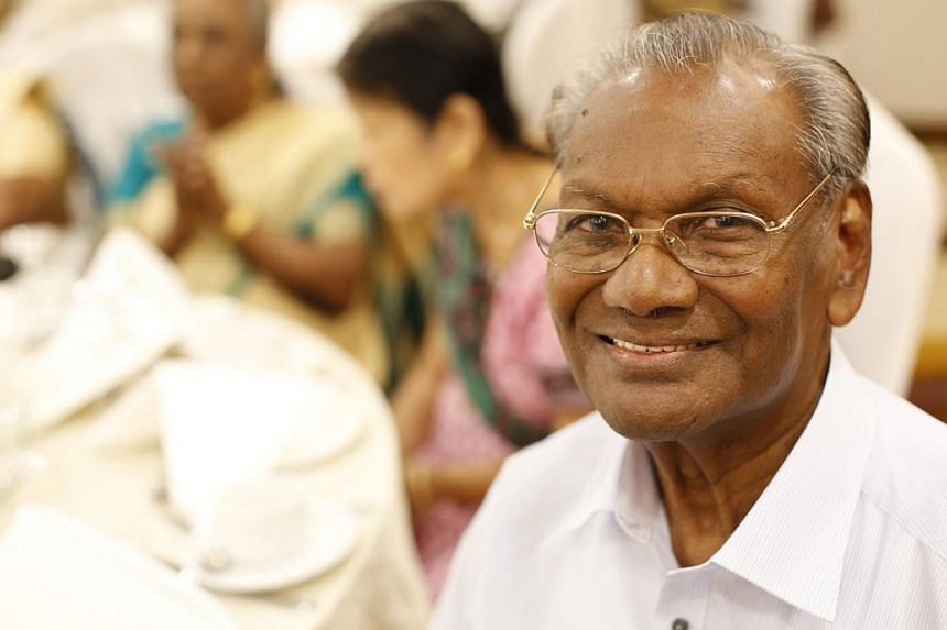 Mr S. Jesudassan, who is behind the Tamil song Munnaeru Vaalibaa, was among the pioneer generation of Tamil teachers honoured yesterday. The 84-year-old retired teacher taught Tamil for 45 years.