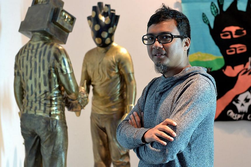 Khairuddin Hori, a senior curator at the Singapore Art Museum will join the Palais de Tokyo, in Paris, one of the world's foremost contemporary art centres, in November as deputy programming director. --PHOTO: BERITA HARIAN