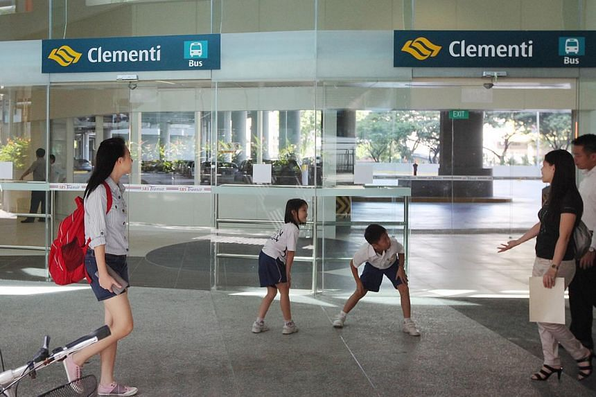 In Clementi, a new service to complement SBS Transit's service 285 will connect commuters from the estate's bus interchange to West Coast Road. -- PHOTO: MY PAPER FILE