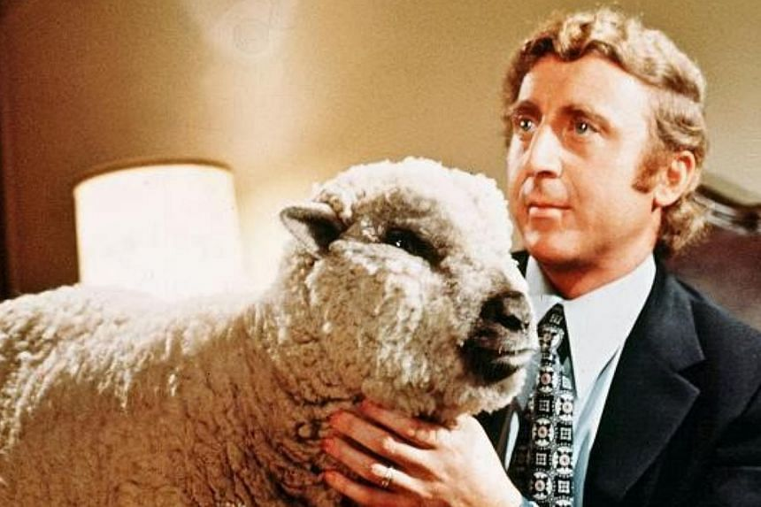 A still from Woody Allen's Everything You Always Wanted To Know About Sex (1972), in which a man falls in love with a sheep. -- PHOTO: UNITED ARTISTS
