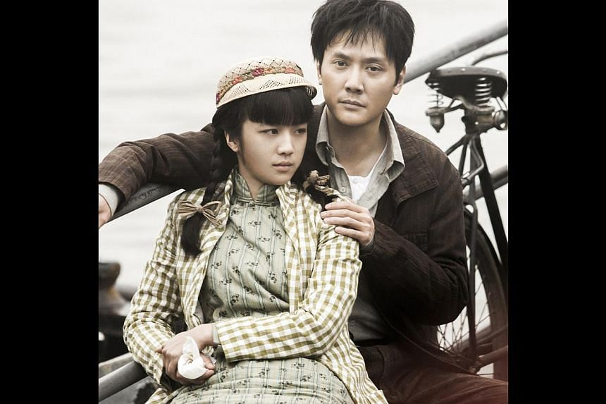 Tang Wei and Feng Shaofeng are compelling as lovers Xiao Hong and Xiao Jun in The Golden Era. -- PHOTO: CLOVER FILMS