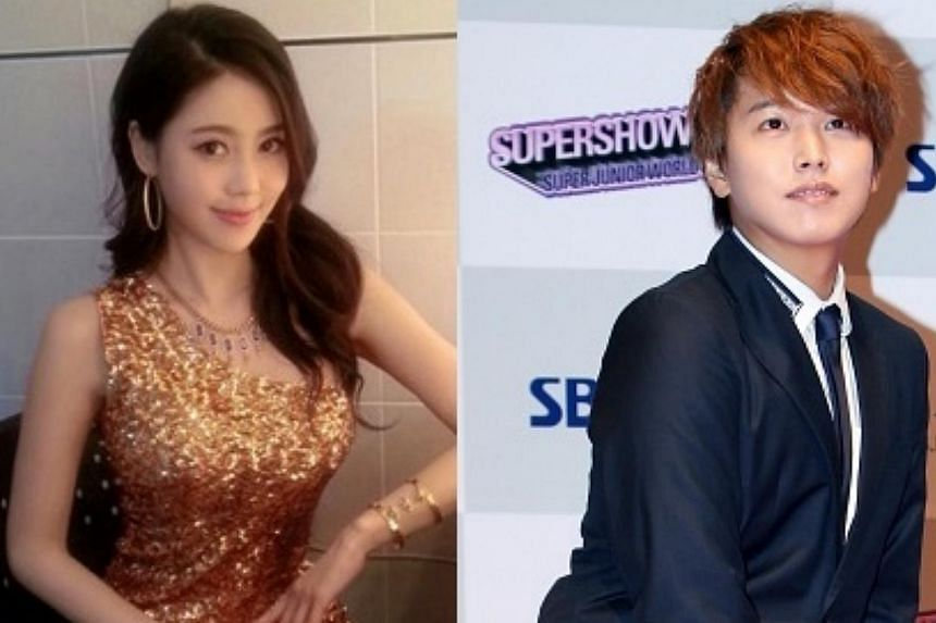 Lee Sung Min, a member of K-pop boyband Super Junior, confirmed Tuesday that he will marry actress Kim Sa Eun in December, hours after Kim denied news reports about their betrothal.-- PHOTO: THE KOREA HERALD/ASIA NEWS NETWORK