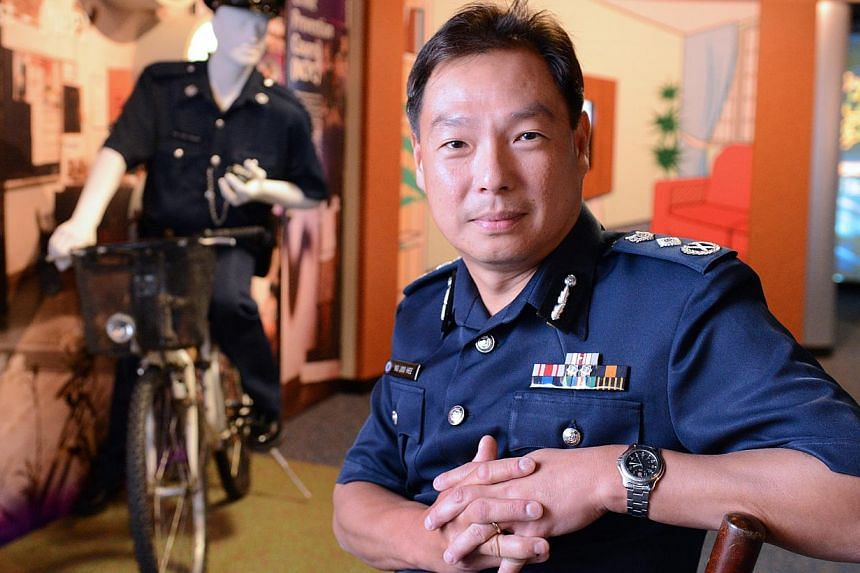 Deputy Prime Minister Teo Chee Hean has thanked Commissioner of Police Ng Joo Hee (pictured) for his service to the police force. -- PHOTO: ST FILE