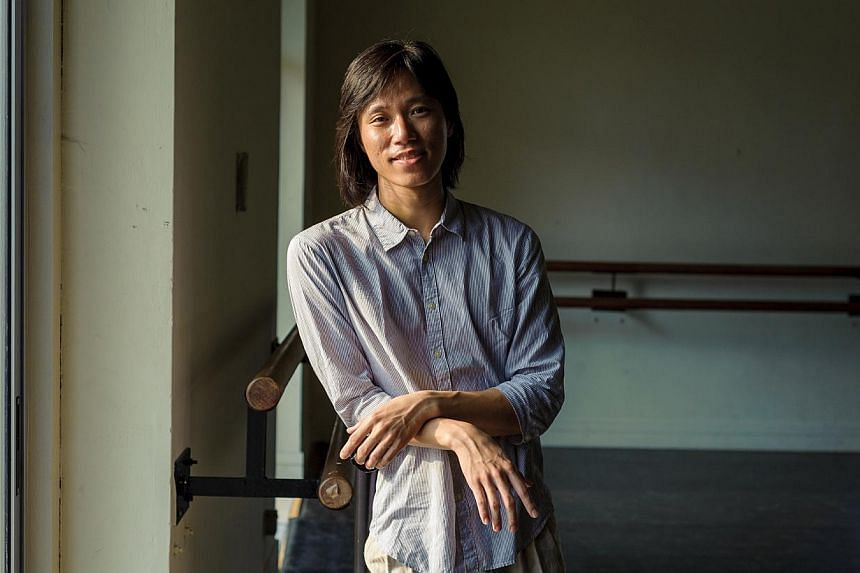 Five Young Artist Awards will also be given out to composer Chen Zhangyi, theatre practitioner Ian Loy, film-maker Jow Zhi Wei, dance artist Lee Mun Wai (pictured), and theatre actor Siti Khalijah Zainal. -- PHOTO: NATIONAL ARTS COUNCIL