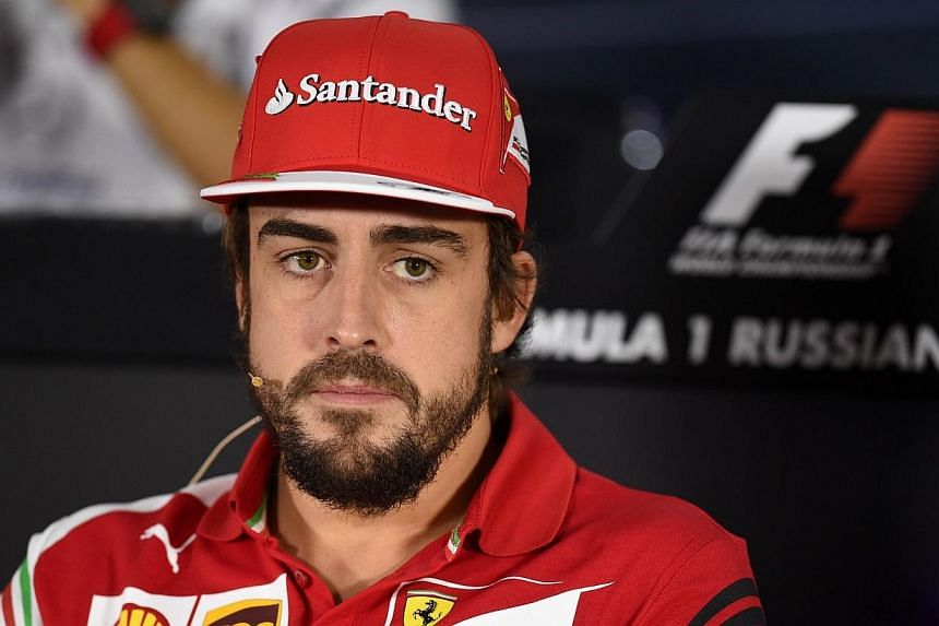 Spanish driver Fernando Alonso is leaving Ferrari at the end of the season because he wants a fresh environment and needs to be winning again, the Formula One team's ex-chairman Luca di Montezemolo said on Wednesday. -- PHOTO: AFP