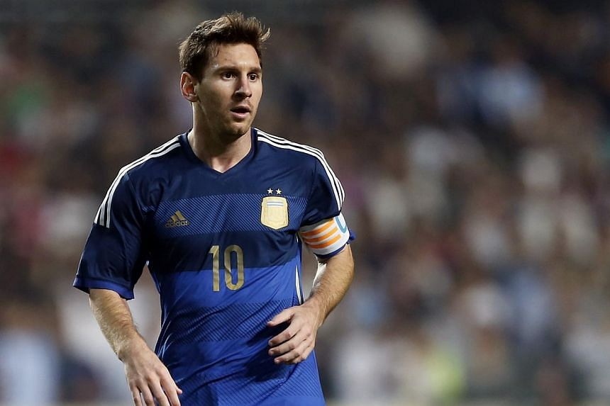 Argentina's Lionel Messi reacts during their international friendly soccer match against Hong Kong in Hong Kong on Oct 14, 2014. TheBarcelona and Argentina forward had nothing to do with his own tax affairs and should not be included in an inve