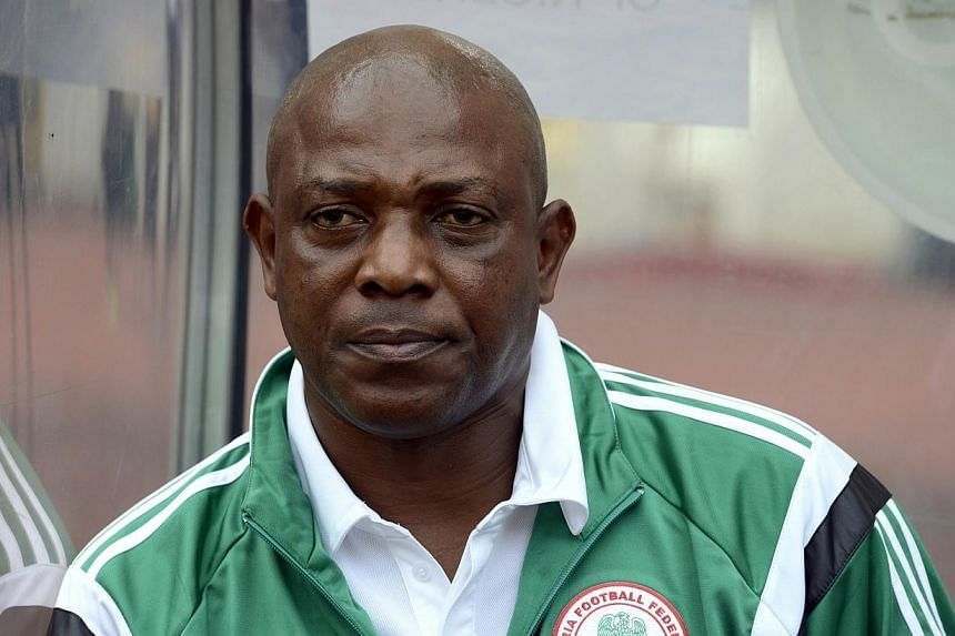 Nigeria on Thursday sacked Stephen Keshi as national football team coach, despite his side's 3-1 home win against Sudan in their 2015 African Nations Cup qualifiers, that kept them in the running to defend their African title. -- PHOTO: AFP