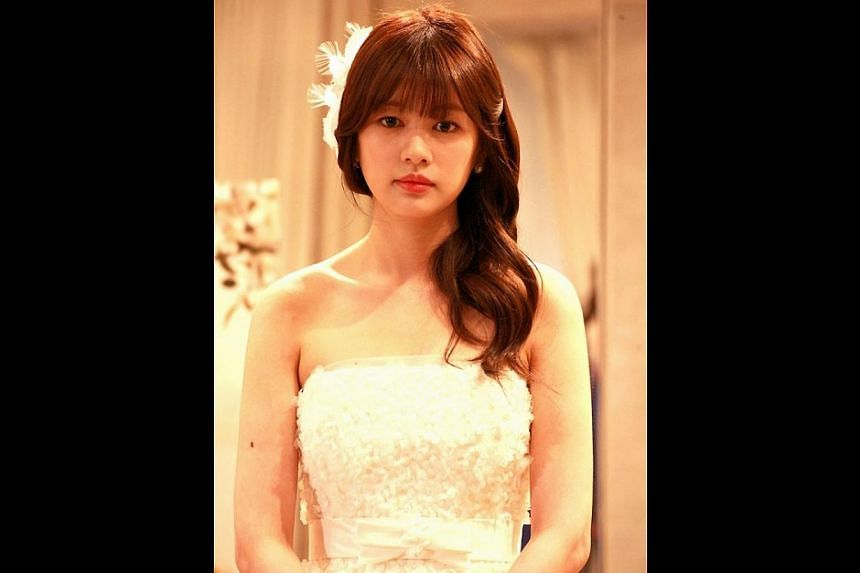 Jung So Min in the South Korean romcom Can We Get Married?. -- PHOTO: STARHUB