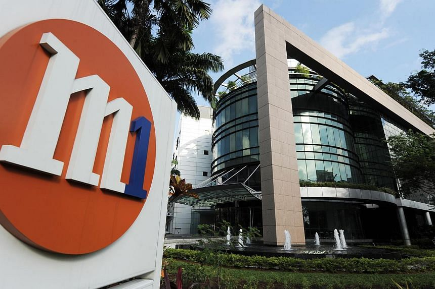 Telco M1's hotline is reported to be routed to the Singapore Police Force hotline. Several readers told The Straits Times that when they called M1 hotline 1627, they were directed to the police hotline 999 instead. -- PHOTO: M1