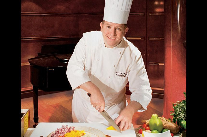 SilverSea Cruises' culinary trainer David Bisland will conduct cooking classes on a cruise next month. -- PHOTO: SILVERSEA CRUISES