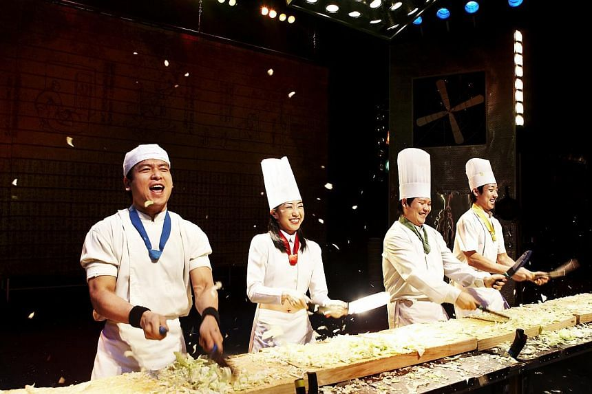 Catch Korean percussion act Nanta on Koreanthemed cruises by Star Cruises. -- PHOTO: STAR CRUISES