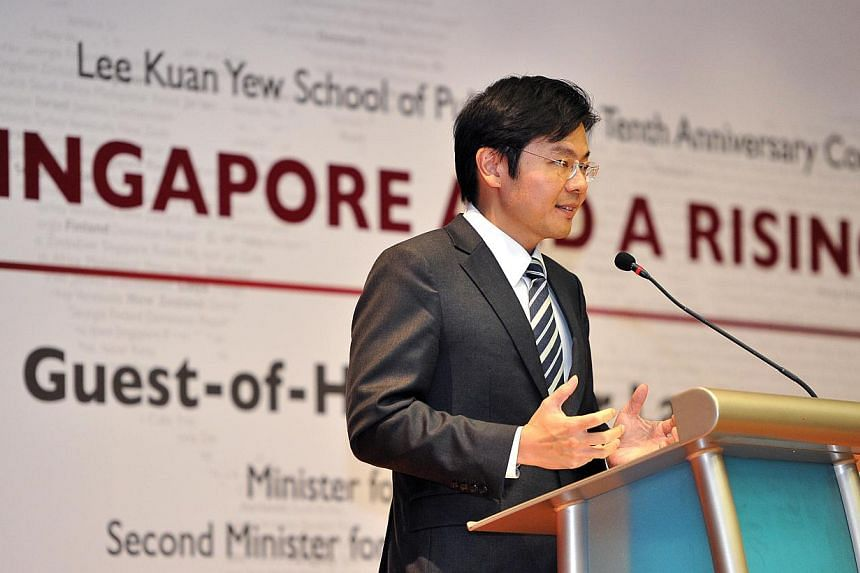 Singapore should strive to be a society which works on and values integrity and deeds, and where citizens are actively involved in finding solutions that will improve the country, Minister of Culture, Community and Youth Lawrence Wong said. -- ST PHO