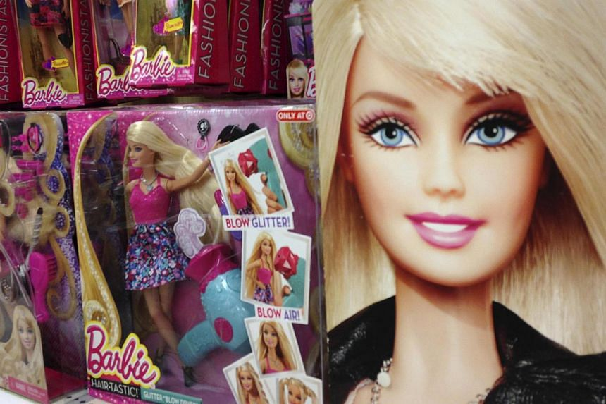 Barbie, born in 1959 as a teenage model in the fictional Wisconsin state of Willows, has survived more than 150 career makeovers. -- PHOTO:REUTERS