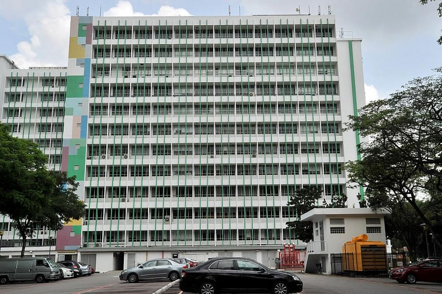 The former Ministry of Education headquarters in Kay Siang Road. -- PHOTO: LIM YAOHUI FOR THE STRAITS TIMES