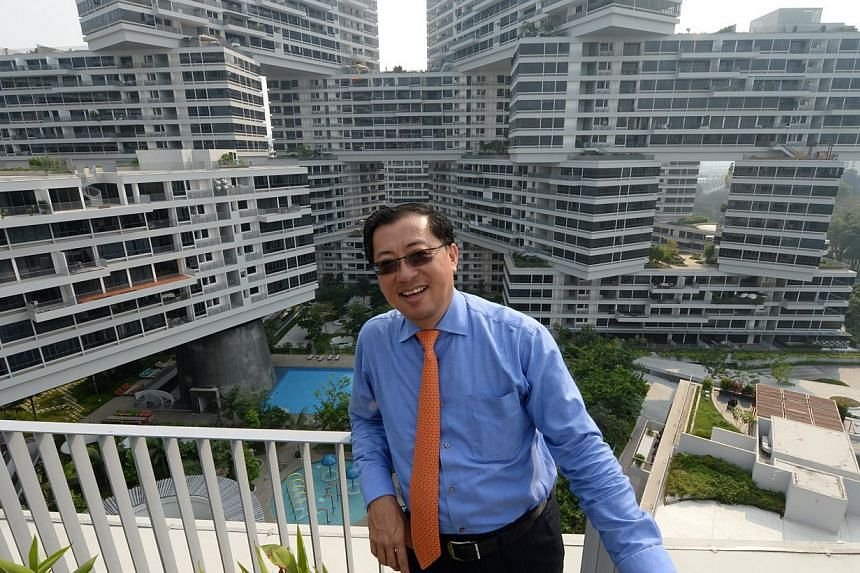 Mr Wong Heang Fine, the chief executive officer of CapitaLand's Singapore residential business, has resigned, the company said on Friday morning. -- PHOTO: ST FILE