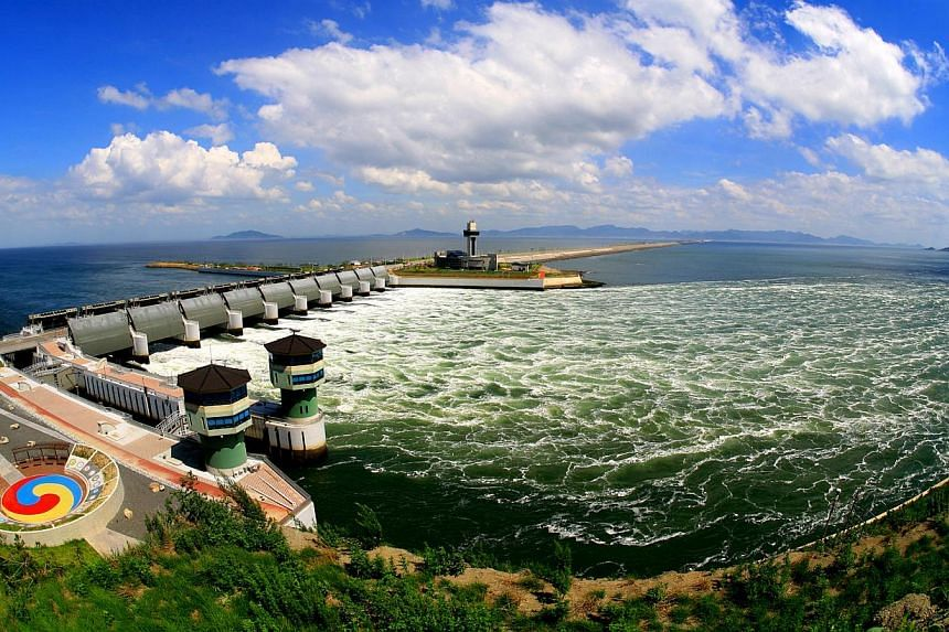 The Saemangeum reclamation project is the longest man-made seawall in the world.