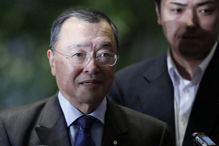 Japanese Prime Minister Shinzo Abe will appoint Yoichi Miyazawa as new trade and industry minister, Nippon Television Network reported on Monday, after the incumbent resigned over questionable political funds spending by her support groups, followed