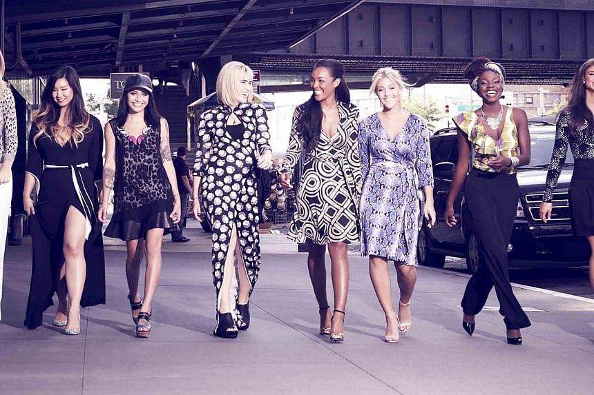 Reality show House Of DVF will have eight women competing for the job of global ambassador for the Diane von Furstenberg brand.