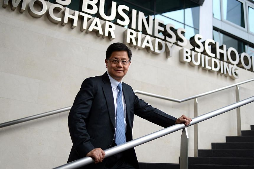 Professor Bernard Yeung, dean of the National University of Singapore's (NUS) Business School. -- PHOTO: ST FILE