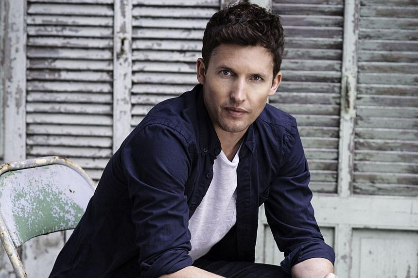"""British singer-songwriter James Blunt has described the multi-million selling song that made his name, You're Beautiful, as """"annoying"""" and says it was """"force-fed down people's throats"""". -- PHOTO: SCARLET PAGE"""