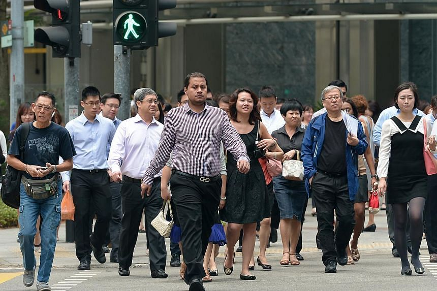 Building up their nest egg is the most difficult life goal for Singaporeans, who also fear that they will not have enough to retire comfortably with.-- PHOTO: ST FILE