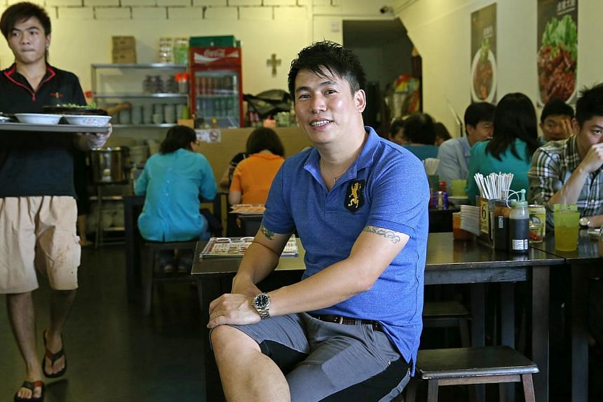 Soon Huat Bak Kut Teh founder Jabez Tan, 40, served time in prison for drug-related offences from 2003 to 2006. His outlets here employ former convicts, some of whom have no place to go after leaving prison.