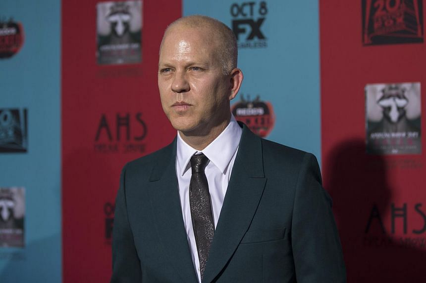 "Co-creator and executive producer Ryan Murphy poses at the premiere of ""American Horror Story: Freak Show"" in Hollywood, California, on Oct 5, 2014. -- PHOTO: REUTERS"