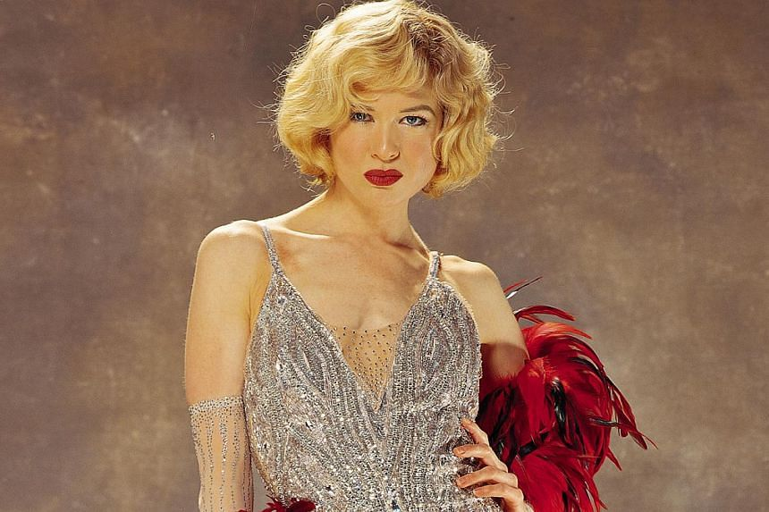 Rene Zellweger in a cinema still from Chicago. -- PHOTO: SHAW