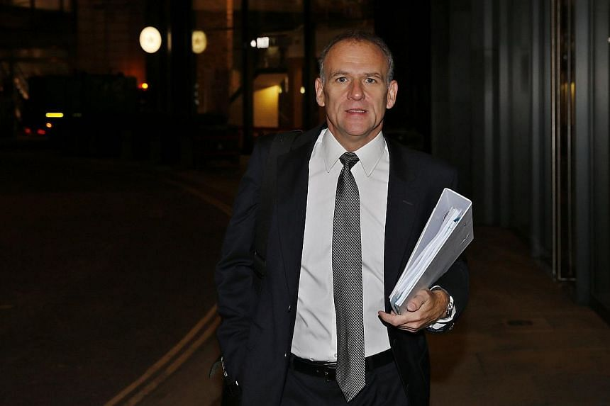 Tesco Plc. CEO Dave Lewis arrives for Tesco's interim results announcement in London on Oct 23, 2014.UK supermarket giant Tesco is considering the drastic option of spinning off its Asian operations and floating them as a separate company in or