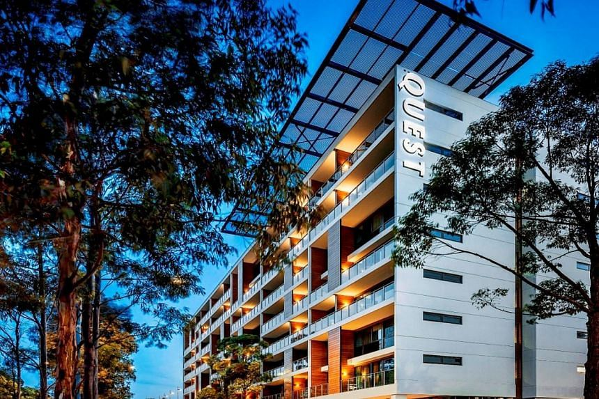 The Quest Sydney Olympic Park. -- PHOTO: THE ASCOTT LIMITED