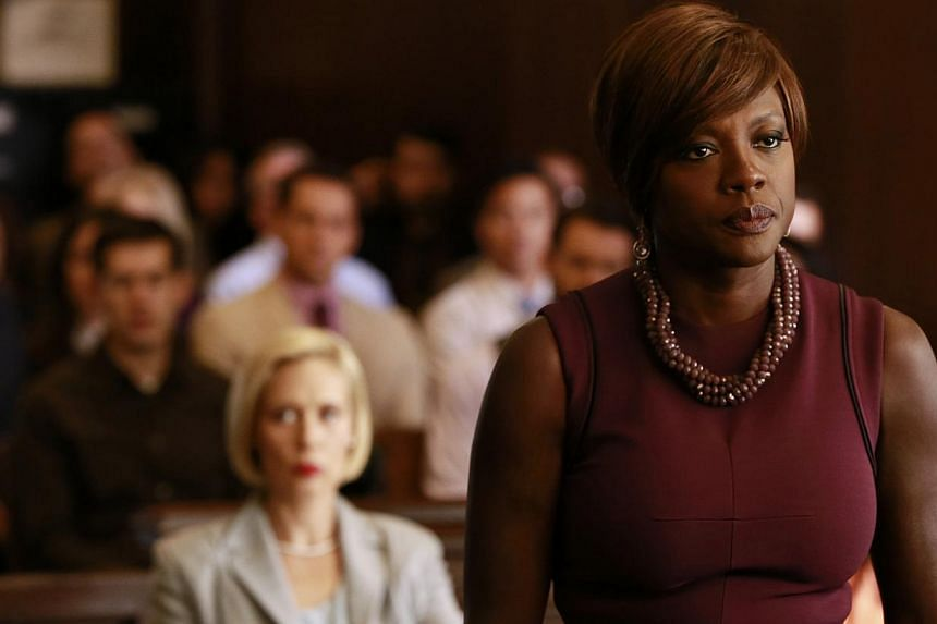 Viola Davis plays brilliant and manipulative criminal law professor Annalise Keating in How To Get Away With Murder. -- PHOTO: ABC