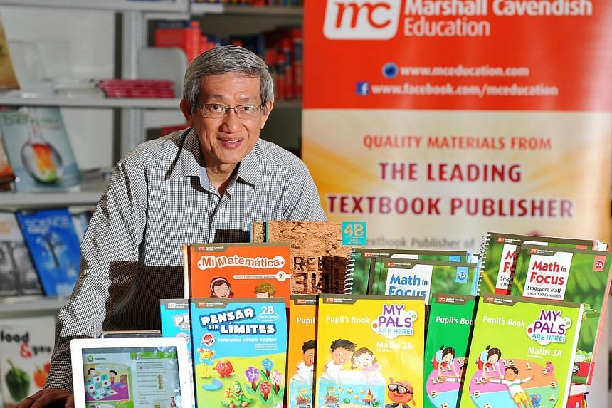 Dr Fong Ho Kheong is the principal author of a series of maths textbooks called My Pals Are Here!, on which Marshall Cavendish Education's customised textbooks for 10 countries are based.