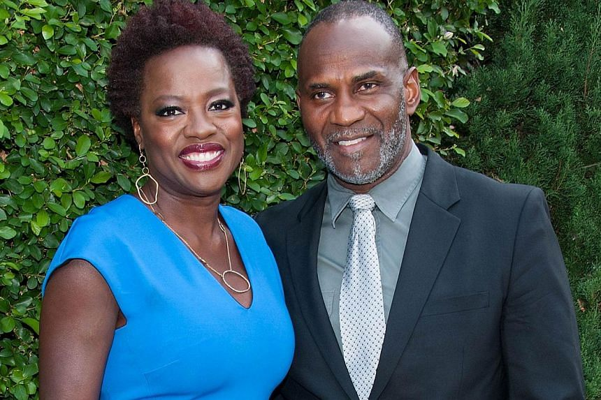 American actress Viola Davis (with husband Julius Tennon) on not wanting her character Annalise Keating to look perfect all the time. --PHOTO: AGENCE FRANCE-PRESSE