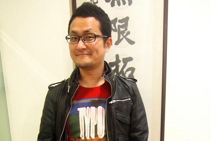 Taiwanese author and film-maker Giddens Ko.-- PHOTO: MY PAPER FILE