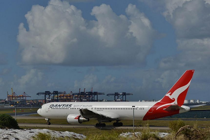Qantas Airways said on Friday it had returned to underlying profitability in the first three months of the financial year. -- PHOTO: AFP