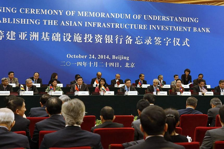 Australia, Indonesia and South Korea skipped the launch of a China-backed Asian infrastructure bank on Friday as the United States said it had concerns about the new rival to Western-dominated multilateral lenders. -- PHOTO: REUTERS