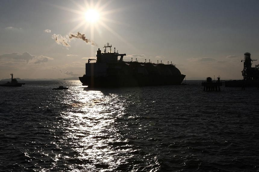 An LNG tanker anchored near Incheon, South Korea. Gas transportation is subject to the laws of physics: long-distance LNG shipments are costly and so Asia will pay dearly if it remains reliant on gas from faraway places.