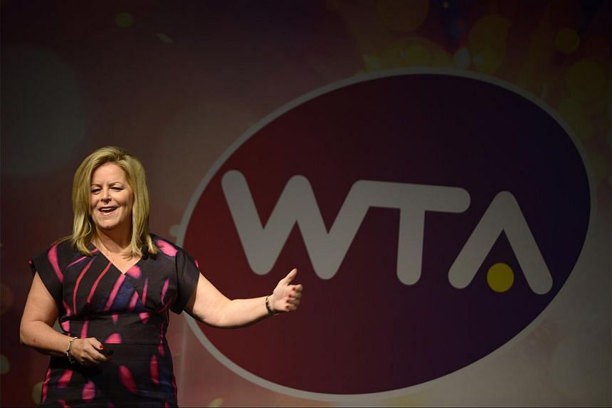 """Women's Tennis Association (WTA) CEO Stacey Allaster says the Singapore event """"exceeded our expectations""""."""