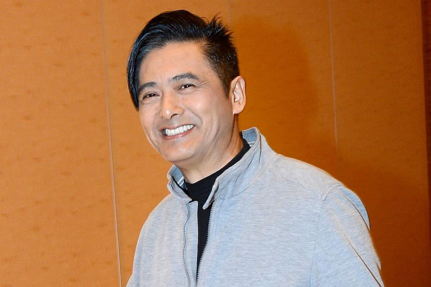 Actor Chow Yun Fat, who has spoken up in defence of the pro-democracy movement in Hong Kong, appeared nonchalant when asked about a rumoured mainland ban on pro-Occupy Central artists, who also include actor Chapman To and singers Anthony Wong Yiu Mi