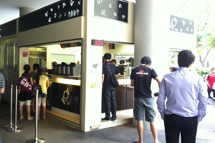KOI Cafe has fired the employee who allegedly insulted and hurled expletives at one of its customers over the weekend. -- PHOTO: STOMP