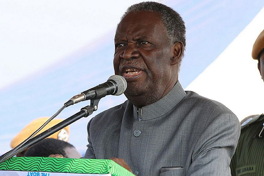 Zambian President Michael Sata has died in London, where he had been receiving treatment for an undisclosed illness, three private Zambian media outlets said on Wednesday. -- PHOTO: AFP