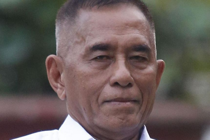 Indonesia's new President Joko Widodo has come under fire for appointing hardline former general Ryamizard Ryacudu (pictured) as defence minister, with activists saying it marks a step backwards for human rights. -- PHOTO:THE JAKARTA POST / JER