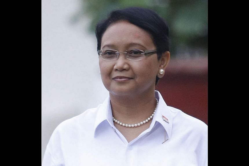 Retno Marsudi, 51, Minister for Foreign Affairs. -- PHOTOS: JAKARTA POST/ASIA NEWS NETWORK, AGENCE FRANCE-PRESSE