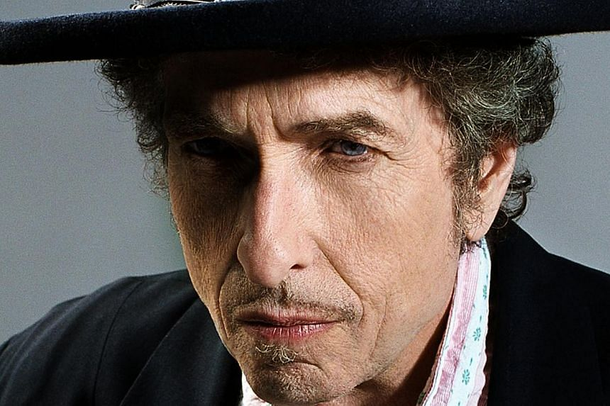 Rock legend Bob Dylan (above) will release a new album in 2015, he has confirmed, after he unexpectedly put out a cover of a Frank Sinatra song. -- PHOTO: COLUMBIA