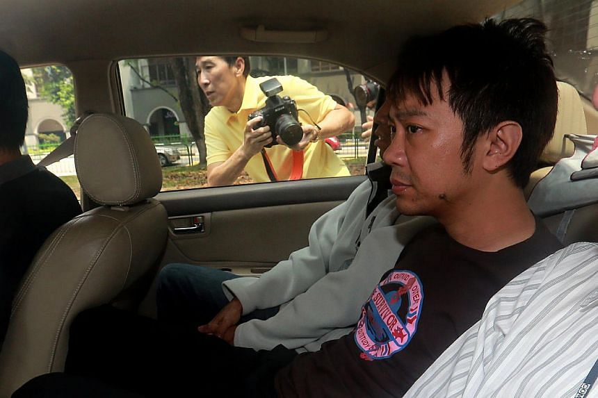 Former China tour guide Yang Yin, who is embroiled in a legal tussle over the assets of a wealthy 87-year-old widow was charged in court on Friday. -- ST PHOTO: WONG KWAI CHOW