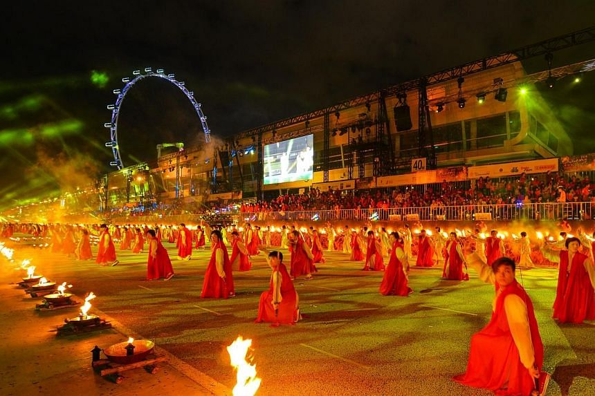 Soak in the atmosphere at Chingay Parade Singapore.-- PHOTO: PEOPLE'S ASSOCIATION