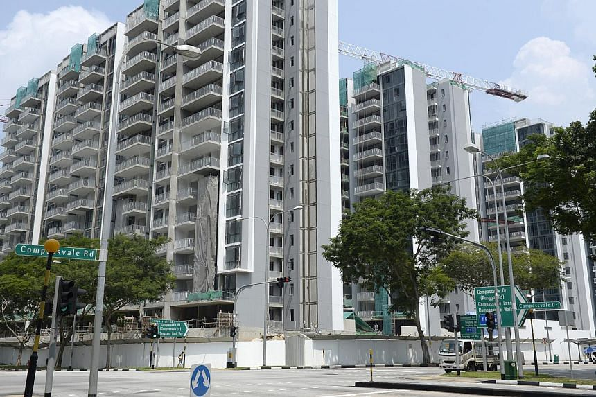 COMPETING FOR TENANTS: Some 2,300 new condominium units have been added to District 19, which includes Punggol, Sengkang and Hougang, in the past year. It will be followed by another 3,000 condo units over the next 12 months, with the completion of A